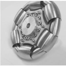MTO-14183/100mm(4인치) 스테인리스 휠&바디 옴니휠(엠티솔루션)